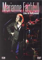 DVD - Marianne Faithfull Live in Hollywood