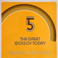 LP - Various Artists Great idols of today No 5