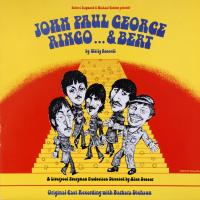 LP - Barbara Dickson cast recording John Paul George Ringo ... & Bert