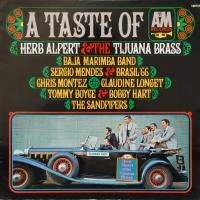 LP - Various Artists A taste of A&M