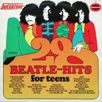 LP - John Hamilton Band 28 Beatle-hits for teens