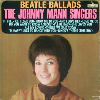 LP - Johnny Mann Singers Beatle Ballads