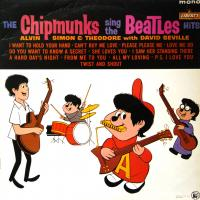 LP - Chipmunks Chipmunks sing the Beatles HITS