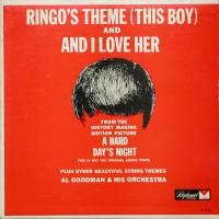 LP - Al Goodman & Orchestra Ringo's theme (This Boy)