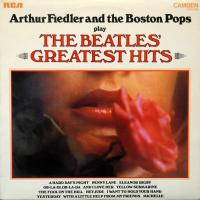LP - Boston Pops / Fiedler Play the Beatles Greatest Hits