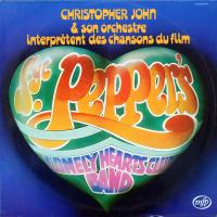 LP - Christopher John et son Orchestre Interpretent des chansons du film Sgt. Pepper's Lonely Hearts Club Band