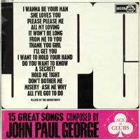 LP - Merseyboys 15 Great Songs Composed By John Paul George