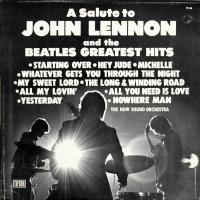 LP - Now Sound Orchestra A Salute to John Lennon and The Beatles Greatest Hits