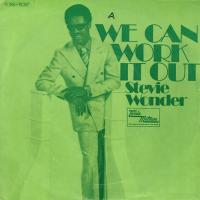 SINGLE - Stevie Wonder We can work it out