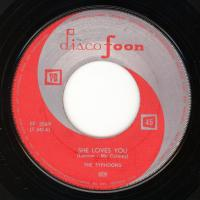 SINGLE - Typhoons / Ray Pilgrim She loves you / Twist and shout