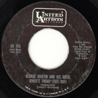 SINGLE - George Martin Orchestra Ringo's theme / And I love her