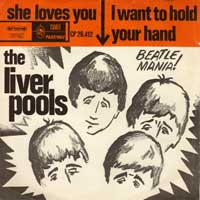 SINGLE - Liverpools She loves you / I want to hold your hand