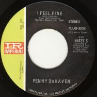 SINGLE - Penny DeHaven I feel fine