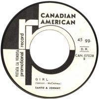 SINGLE - Santo & Johnny Girl