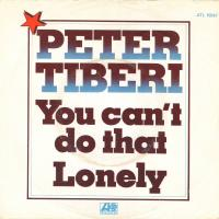 SINGLE - Peter Tiberi You can't do that
