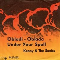 SINGLE - Kenny & The Sonics Ob-La-Di Ob-La-Da